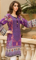 printed linen unstitched kurti