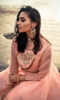 Embroidered Raw silk Stitched 3 Piece Suit