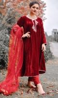 Fancy Pret Velvet 3 Piece Suit
