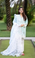 embroidered cotton stitched 3pc suit