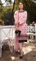 Luxury Pret Cotton Silk 3 Piece Suit