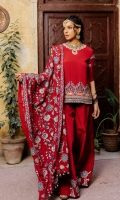 DYED GRIP FRONT & BACK  DYED EMBROIDERED GRIP SLEEVES  DYED EMBROIDERED WITH PANNI EMBELLISHED GRIP SHAWL  EMBROIDERED WITH PANNI EMBELLISHED ORGANZA NECKLINE  DYED EMBROIDERED GRIP BORDER FOR FRONT  HAND EMBELLISHED MOTIF FOR FRONT