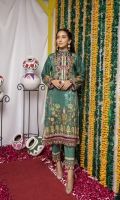 Digitally Printed Lawn Shirt Digitally Printed Lawn Trouser Embroidered Neckline
