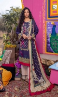 Digitally Printed Lawn Shirt Digitally Printed Lawn Dupatta Embroidered Patches