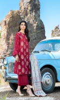 Dupatta:    Cotton Net Contrast, 2.5 Meters Shirt Front:   1.15 Meter, Embroidered Shirt Back:    1.75 Meter    Trouser:          2.5 Meters