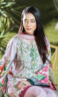 Linen Embroidered Shifly Front Lnen Digital Printed Back Bamberg Chiffon Dupatta Linen Dyed Trouser Embroided Patch For Trousers