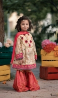 Aari work and zari embroidered maisuri paired with jamawar gharara and net dupatta