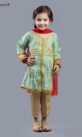 Elegant Gota work on self maisuri paired with jamawar pants and net dupatta
