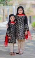 Zari embroidered khaadi cotton with jamwar pants and net duppata