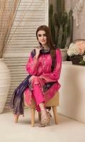 – Unstitched Broshia Lawn Shirt colours – Splendid Contrast Broshia Dupattas – Unstitched Plain Shalwar