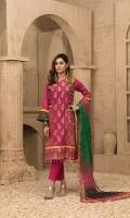 Un-Stitched Chundri Digital Printed Lawn Broshia Banarsi Shirt Digital Chundri Printed Slub Chiffon Dupattas Plain Cambric Shalwar
