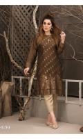 Attractive Stitched Banarsi Shemray Kurti