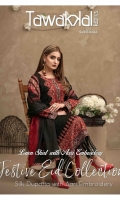 Semi-Stitched Fancy Aari Embroidered Lawn Shirt Silk Fancy Aari Embroidered Dupattas Banarsi Shalwar