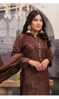 - Broshia Viscose Masuri Shirts  - Viscose Masuri Broshia Dupattas  - Plain Dyed Shalwar