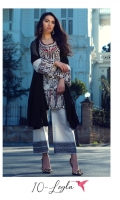 3 Piece Embroidered Suit Shirt : Digital Printed Lawn Dupatta : Chiffon Embroidered Sleeves: Digital Printed Lawn Trouser : Digital Printed  BORDER Digital Printed Border For Trouser EMBROIDERY Embroidered Gala Embroidered Daman For Front Embroidered Border For Sleeves Embroidered Chiffon Dupatta