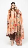 Fabric Shirt: Lawn 3.65 M Fabric Dupatta: Lawn 2.5 M