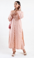 A Sultrypink Pleated Solid Kurta A Great Addition To Any Wardrobe A Perfect With Buttoned Front And A Subtle Details Along The Hem A Great Outfit Perfect For Summer