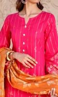 3 Mtr Shirt Jacquard Banarsi Dyed Lawn 2.5 Mtr Dupatta Jacquard Banarsi Dyed Lawn 2.5 Mtr Trouser High Quality Dyed