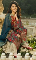 Front Embroidered 1.25 Meter Front Body Embroidered 1 Piece Back Embroidered 1.25 Meter Sleeves Embroidered 1 Pair Sleeves Border Embroidered 1 Pair Front Border Embroidered 1 Piece Dupatta Embroidered 2.5 Meter Slip Fabric (Pure Silk) 2.25 Meter Trouser (Pure Sillk) 2.5 Meter