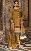 Digital Printed Suprema Lawn Shirt, Digital Printed Suprema Lawn Dupatta, Dyed Cotton Trouser