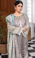 Shirt Fabric: Lawn   Shirt Size: 1.75 meters Dupatta Fabric: Lawn   Dupatta Size: 2.5 meters