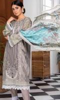 Shirt Fabric: Lawn | Shirt Size: 1.75 meters Dupatta Fabric: Lawn | Dupatta Size: 2.5 meters