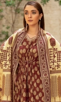 Shirt Fabric: Khaddar | Shirt Size: 2.5 meters Dupatta Fabric: Khaddar | Dupatta Size: 2.5 meters Trouser Fabric: Khaddar | Trouser Size: 2.5 meters