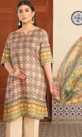 Shirt Fabric: Lawn | Shirt Size: 1.75 meters Trouser Fabric: NR | Trouser Size: 2.5 meters