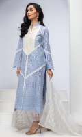 WHITE CUT-WORK COTTON CHIKAN TUNIC. EMBROIDERED NECK WITH RESHAM WORK. FINISHED WITH HEAVY LACE DETAILS.