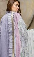 Embroidered Chikankari Unstitched 3 Piece Suit