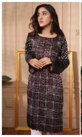 Digital Printed Pure Charmeuse Silk Kurti