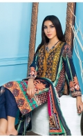 Embroidered Digital Printed Lawn Front Digital Printed Lawn back Digital Printed Lawn sleeve Digital Printed Lawn Dupatta Dyed Lawn Trouser
