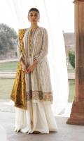 Embroidered Jacquard Front , Back and Sleeves Embroidered Neck Line and Border Patch Jacquard Dupatta Plain Cambric Trouser