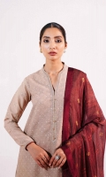 Embroidered Schiffli Shirt Front & Back 2 Yards Embroidered Schiffli Sleeves 0.65 Yards Embroidered Border Patch 2.1 Yards Printed Silk Dupatta 2.6 Yards Paste Printed Cambric Trouser 2 Meters