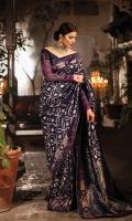 Blouse:    Embroidered Rawsilk Sleeves Rawsilk Blouse Saree:  Silk Banarsi Saree
