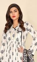 Digital Printed Linen Shirt (2.85 Meter) Digital Printed Linen Dupatta (2.5 Yard) Plan Linen Trouser (2.5 Yard)