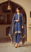 lawn embroidered front lawn embroidered back lawn embroidered sleeves Chiffon embroidered Duppata lawn embroidered boder for front back Plain trouser