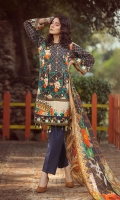 lawn printed front lawn printed back lawn print embroidered sleeves Chiffon Printed emboridered Duppata Plain trouser