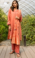 Yarn Dyed Jacquard Shirt with Embroidered Buttons, Yarn Dyed Jacquard Dupatta