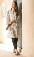Digital Printed Lawn Shirt, Buttons & Pearls for Embellishment