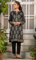 Digital Printed Cotton Satin Shirt, Beads & Pearls for Embellishment