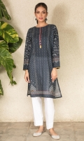 Digital Printed Lawn Shirt, Beads, Pearls & Lace for Embellishment