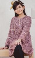 1 Piece Embellished Shirt - Lawn
