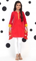 Panelled Top With Embroidered Pockets And Contrasting Embellishments, Fabric: Jacquard