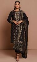 3 Meters Yarn Dyed Jacquard Shirt, 2.5 Meters Yarn Dyed Jacquard Dupatta, 2 Meters Dyed Cambric Bottom