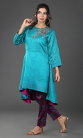 Embroidered Stitched 2 Piece Suit